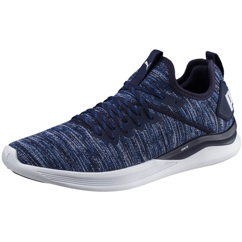 new style eb50d df3ea PUMA - Mens Ignite Flash Evoknit Shoes