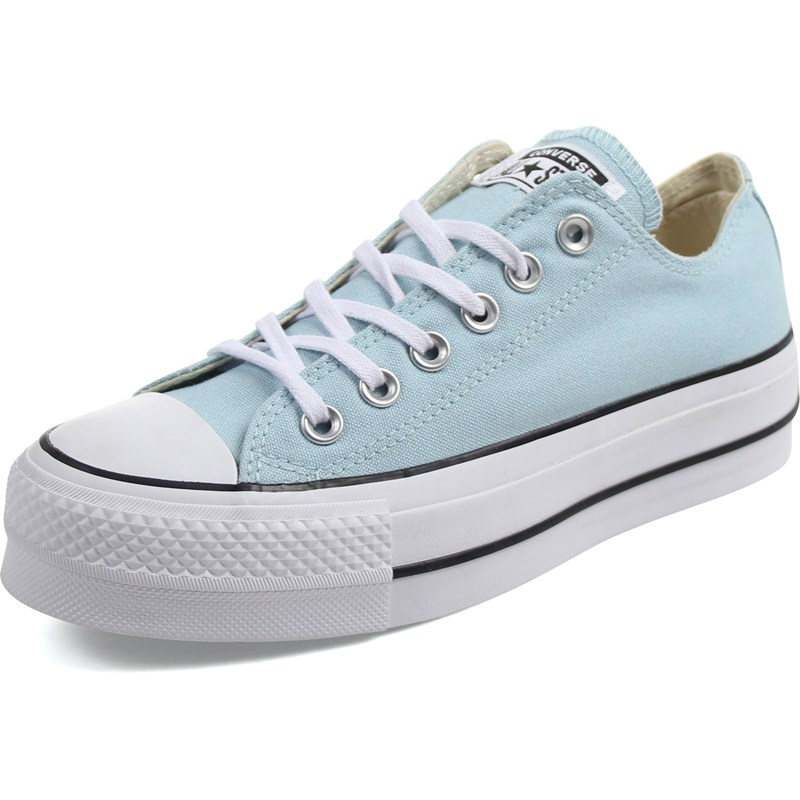 663f6b39e726 Converse - Womens Chuck Taylor All Star Lift Canvas Low Top Shoes