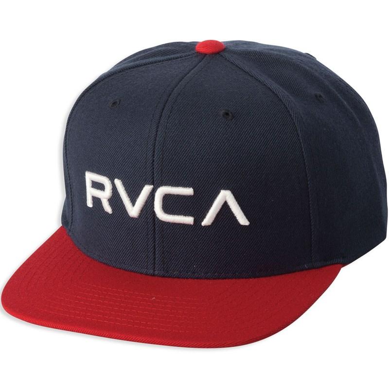 new style cd6f0 be125 RVCA - Mens Rvca Twill Snapback Hat