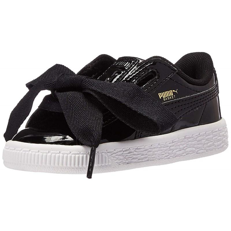 a0713a1224d4 Puma. Puma Kids Basket Heart Patent Ps Shoes