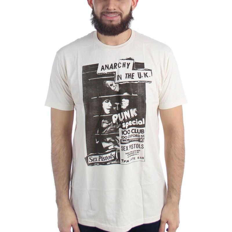 Special T Si >> Sex Pistols Mens 100 Club Punk Special T Shirt