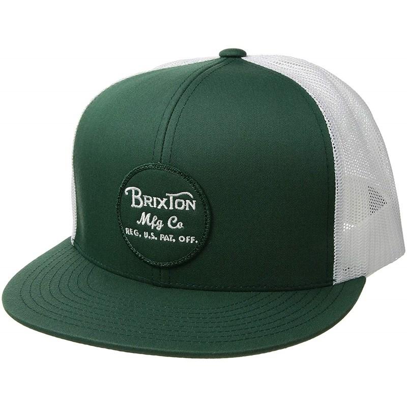 467621d8 Brixton. Brixton - Unisex-Adult Wheeler Mesh Snapback Hat