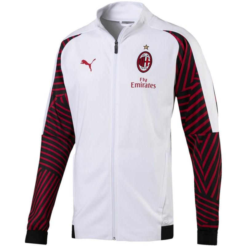 1a53b198b80 PUMA - Mens Ac Milan Stadium Jacket With Sponsor