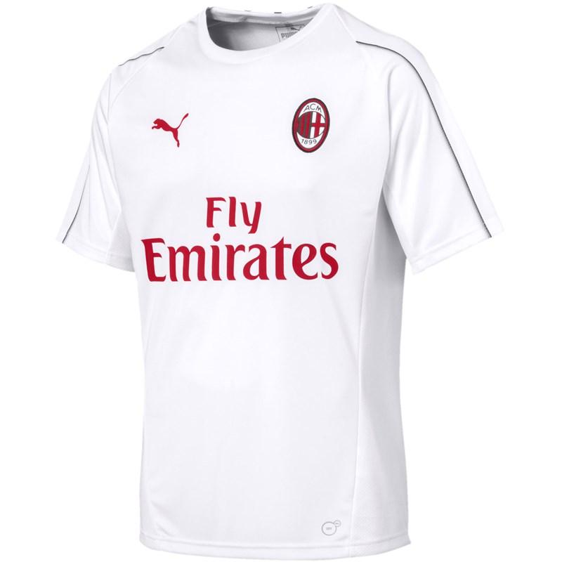 7ae05a9270f2e6 PUMA - Mens Ac Milan Training Jersey Ss With Sponsor