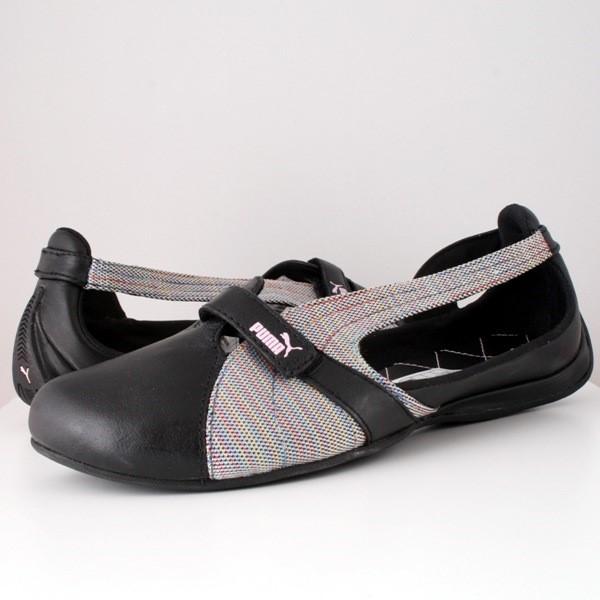 Puma Espera Rainbow Shoes for Women in Black / Multi Color