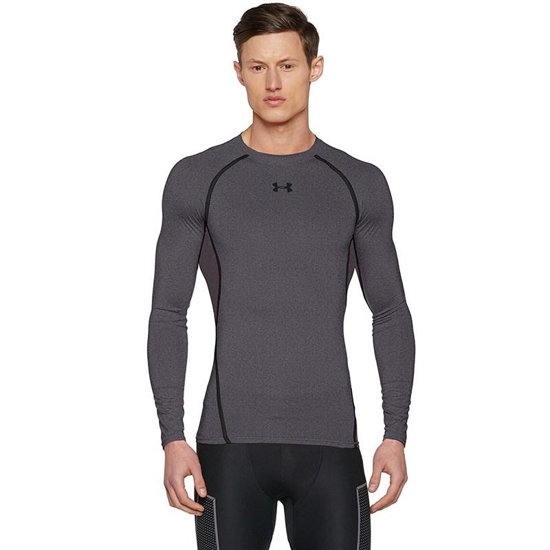 037f94c8 Under Armour - Mens Men's UA HeatGear Armour Long Sleeve Compression Shirt  Long-Sleeves T-Shirt