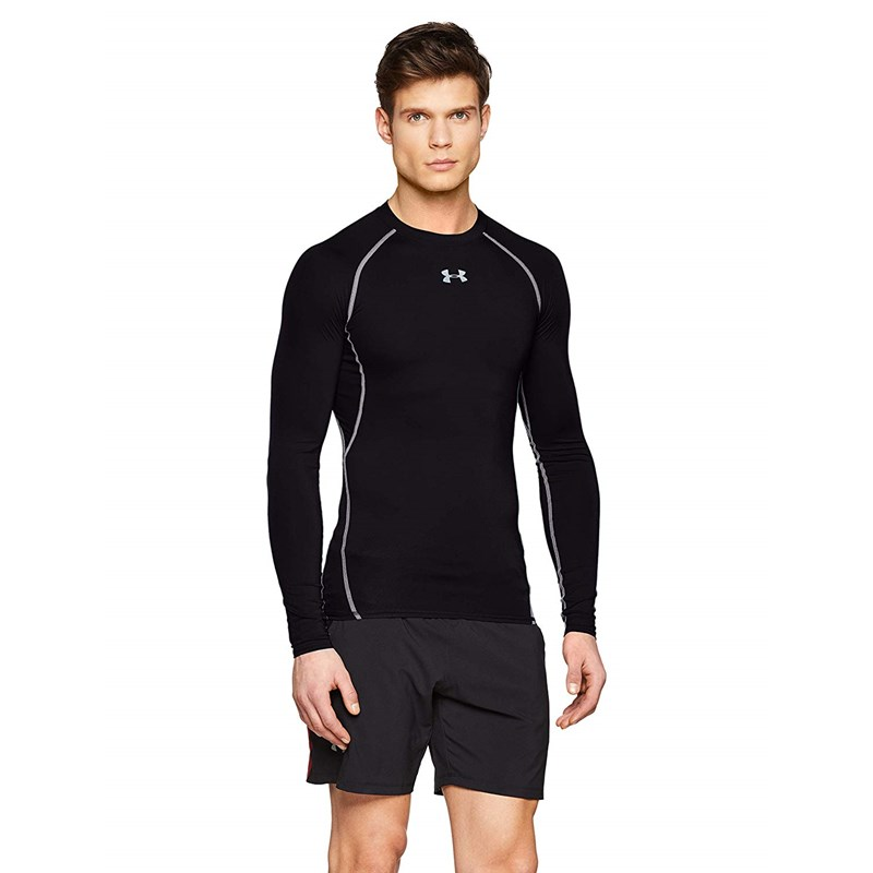 Men/'s Under Armour HeatGear Armour Long Sleeve Compression Shirt