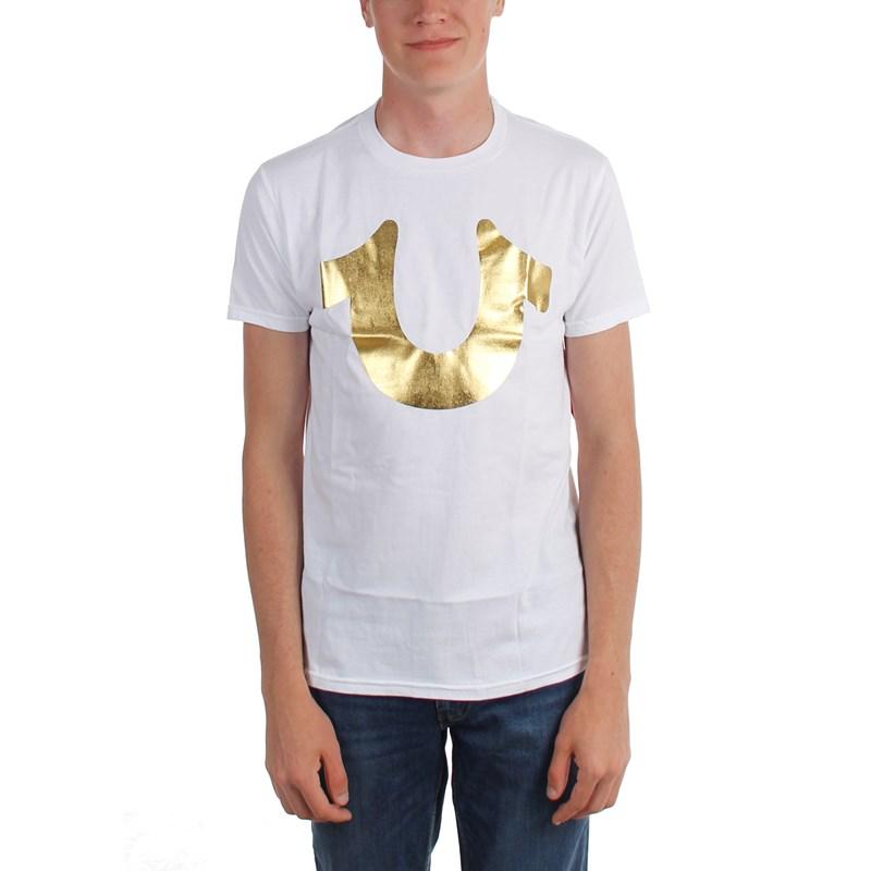 9ac4acb2 True Religion. True Religion - Mens Gold Horseshoe T-Shirt